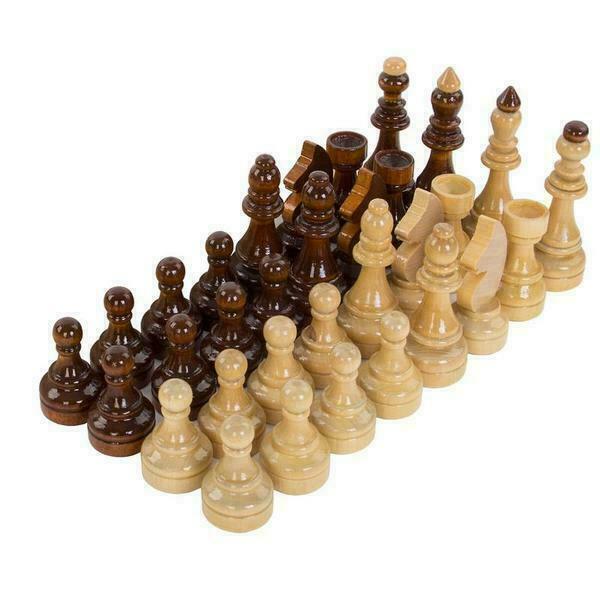Шахматы Гроссмейстерские в картонной коробке