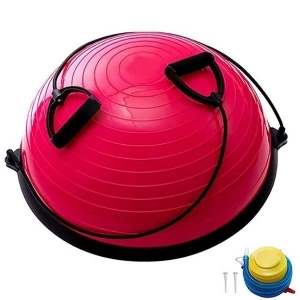 Полусфера гимнастическая BOSU 58см розовая BOSU055-20 (B31661)