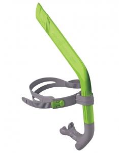 Дыхательный тренажер для плавания PRO SNORKEL junior зеленый