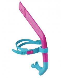 Дыхательный тренажер для плавания PRO SNORKEL junior розовый