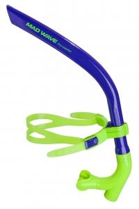 Дыхательный тренажер для плавания PRO SNORKEL темно-синий
