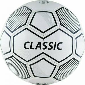 СЦ*Мяч футбольный  Classic арт.F10615, р.5, 32 панели. PVC, 4 подкл. слоя, ручная сшивка, бело-черный TORRES