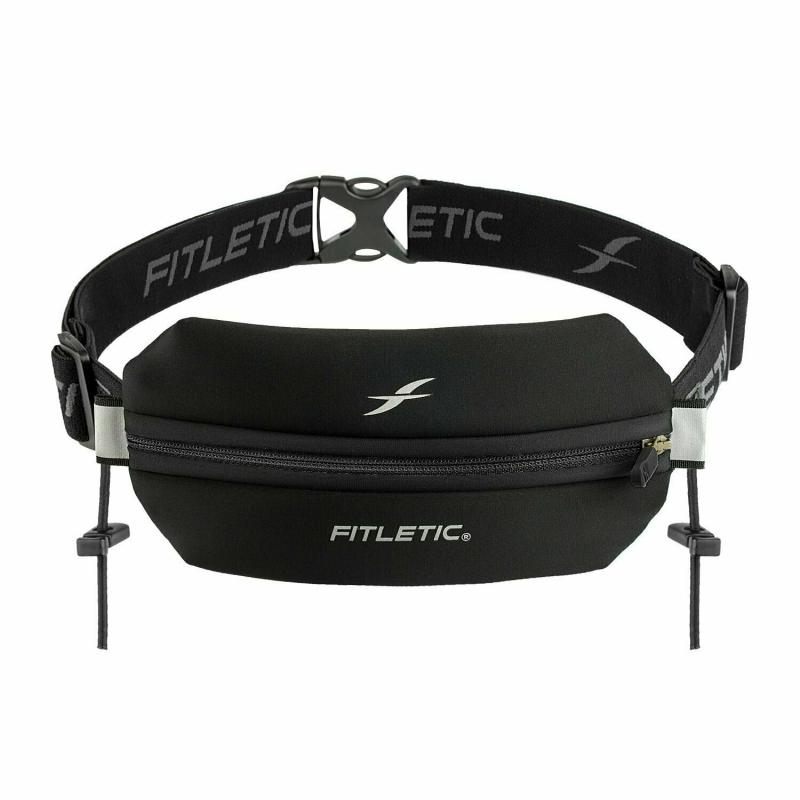 Беговая сумка на пояс FITLETIC Neo Racing, черный