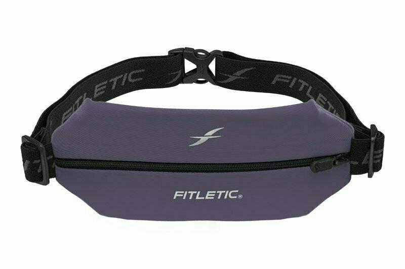 Беговая сумка на пояс FITLETIC Mini Sport Belt, фиолетовый
