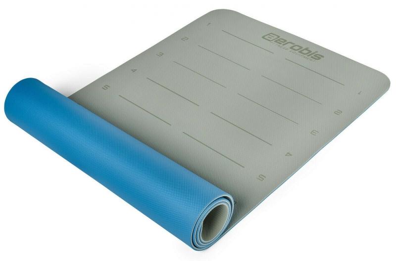Коврик для фитнеса и йоги AEROBIS