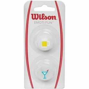 Виброгаситель Wilson Emoti-Fun Beer, арт.WRZ538300, матовый белый