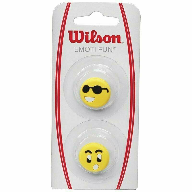 Виброгаситель Wilson Emoti-Fun Sun Glasses, арт.WRZ538500, желто-черный