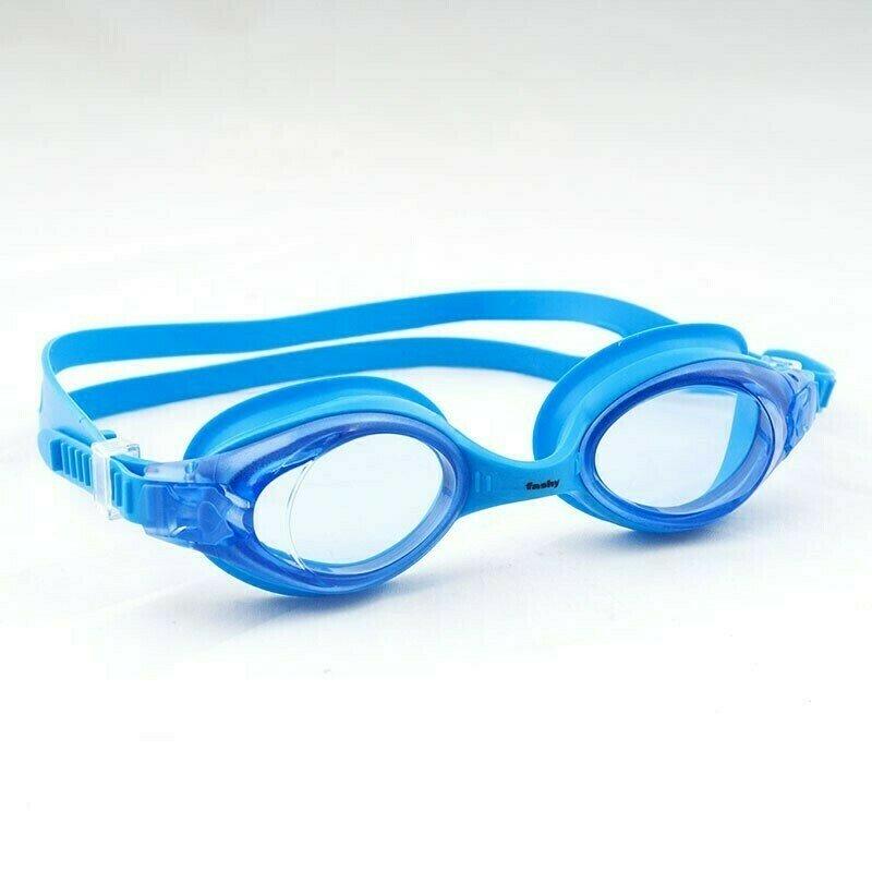 Очки для плавания  FASHY Spark II , арт.4167-50, ГОЛУБЫЕ линзы, нерег.перенос., синяя оправа