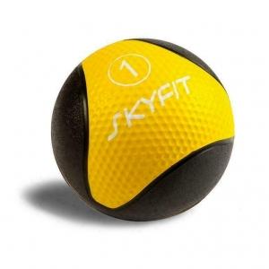 Медицинский мяч (медбол) SKYFIT вес 1 кг.