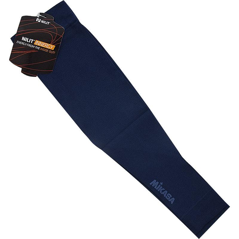 Нарукавник волейб. MIKASA , арт. MT415-036, one size, полиамид, полиэстер, эластан, темно-синий