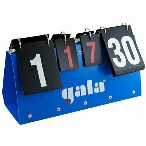 Счетчик для волейбола  GALA , арт. 7XX98003, пластик, на кнопках, дл.39 см,выс.19 см,шир.19см,гол-бел-кр