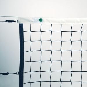 Сетка волейбольная проф. EL LEON DE ORO , арт.14443035002, черн., 9.5х1м, нить 4мм ПП, стальной трос, черн.