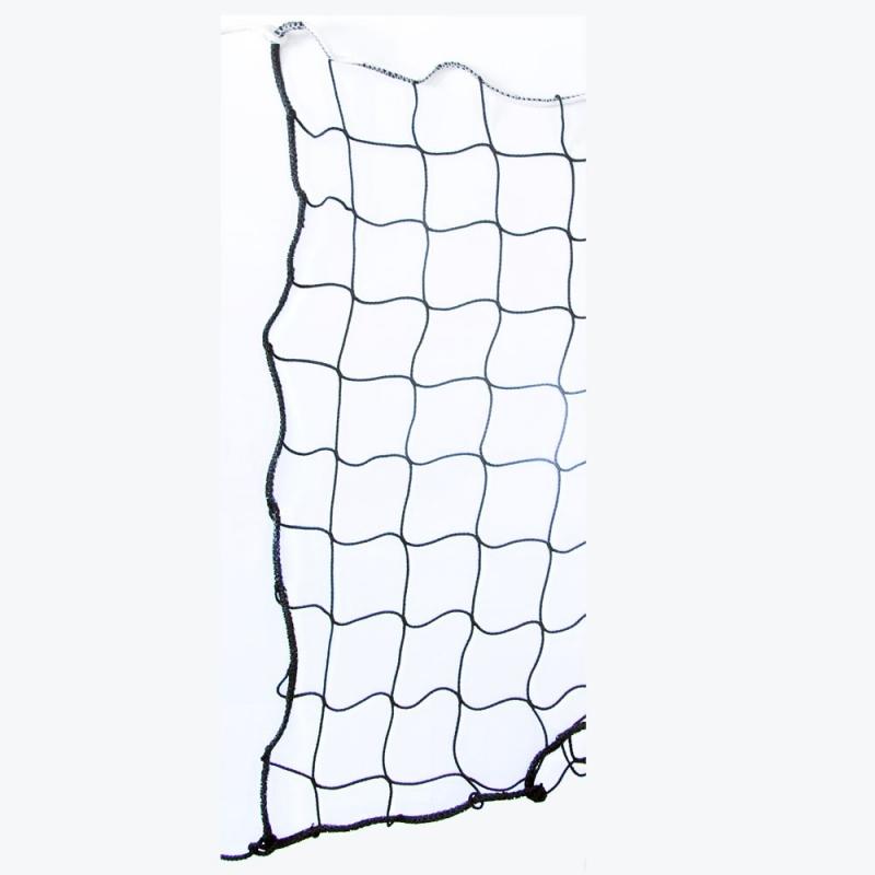 Сетка для пляжного волейбола  EL LEON DE ORO , арт.14449030001, черн., 8.5х1м, нить 3мм ПП, черный