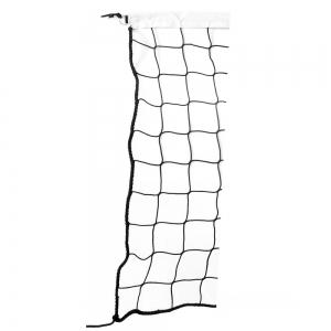 Сетка для пляжного волейбола  EL LEON DE ORO , арт.14449075000, черн., 8.5х1м, нить 3мм ПП, черный
