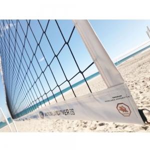 Сетка для пляжного волейбола  EL LEON DE ORO ,арт.14449075001, 8.5х1м, нить 3мм ПП, черный