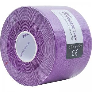 Тейп кинезиологический Tmax Extra Sticky Lavender (5 см x 5 м), арт. 423198, фиолетовый