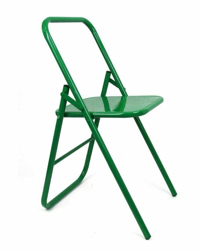 Стул для занятий йогой RamaYoga зеленый, 41 см, 7 кг