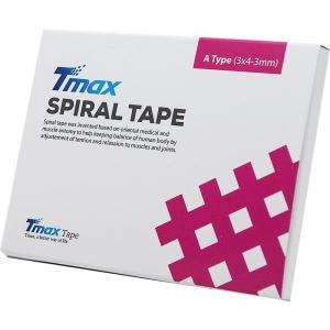 Кросс-тейп Tmax Spiral Tape Type A (20 листов), арт. 423716, телесный
