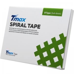 Кросс-тейп Tmax Spiral Tape Type B (20 листов), арт. 423723, телесный