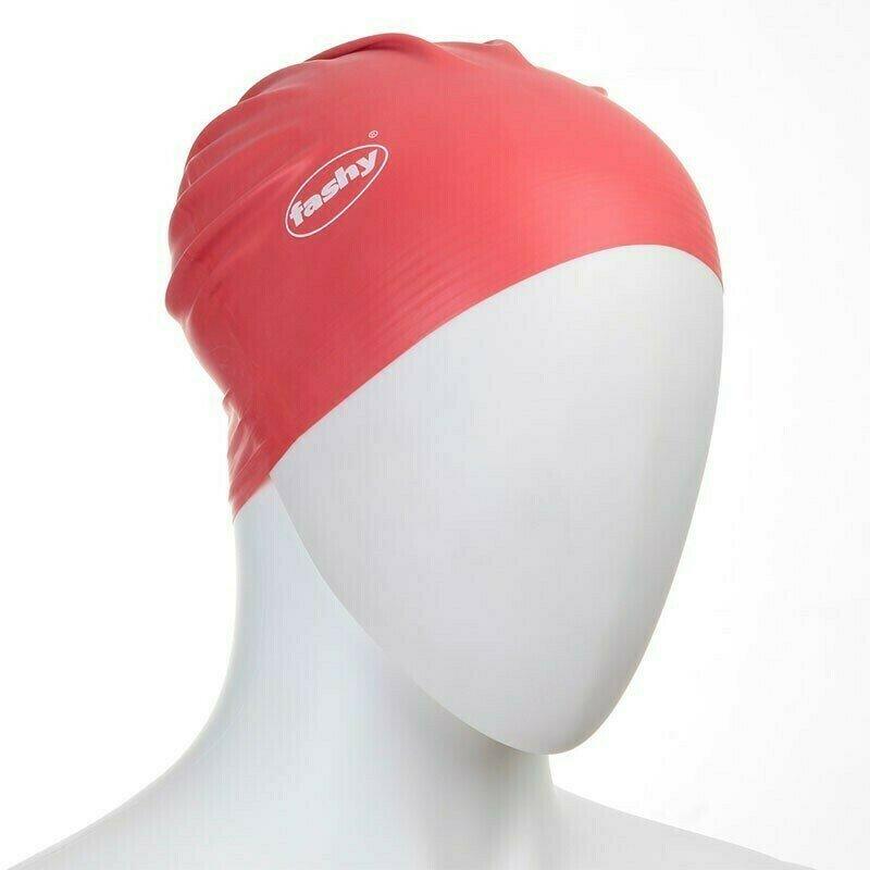 Шапочка для плавания  FASHY Flexi-Latex Cap , арт.3030-40, латекс, красный