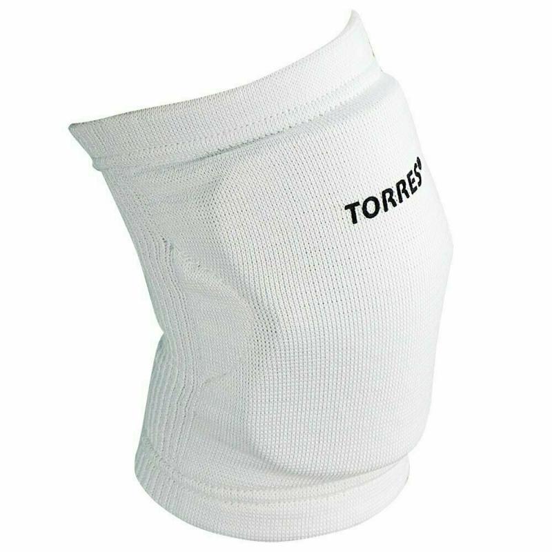 Наколенники спортивные TORRES Light , белый,р.XS, арт.PRL11019XS-01, нейлон, ЭВА