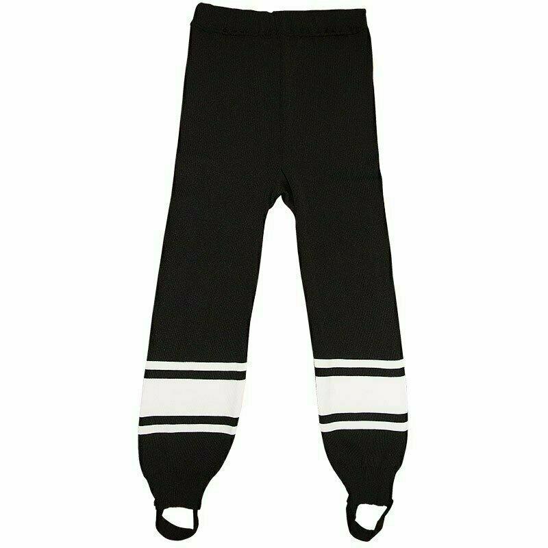 Рейтузы хоккейные  TORRES Sport Team арт. HR1109-01-152, размер 38, рост 152, полиэстер, черно-белый