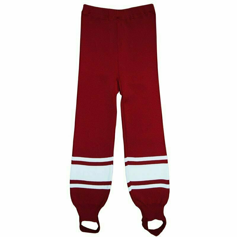 Рейтузы хоккейные  TORRES Sport Team арт. HR1109-02-162, размер 42, рост 162, полиэстер, красно-белый