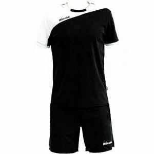 Форма волейбольная мужская MIKASA , арт. MT351-046-L, р.L, 100% полиэстер, черно-белый