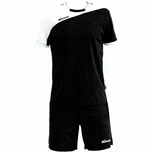 Форма волейбольная мужская MIKASA , арт. MT351-046-M, р. M, 100% полиэстер, черно-белый