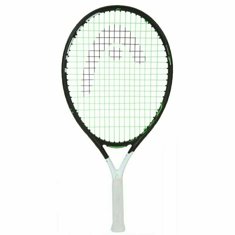 Ракетка теннисная детская HEAD Speed 21 Gr05, арт.235438, для 4-6 лет, композит, со струнами, бело-черный