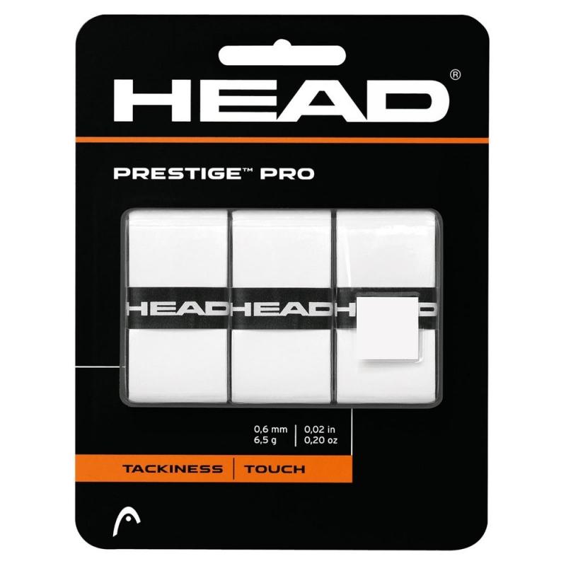 Овергрип Head Prestige Pro (БЕЛЫЙ), арт.282009-WH, 0.55 мм, 3 шт, белый