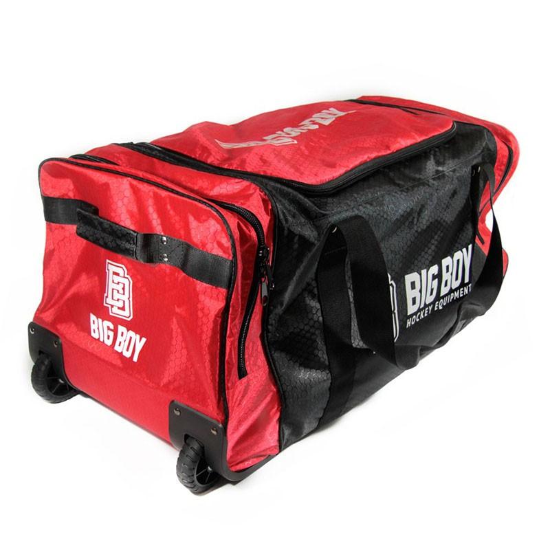 Сумка-баул спортивная  BIG BOY Comfort Line 28  арт.БУ-00000034, полиэстер, черно-красно-белый