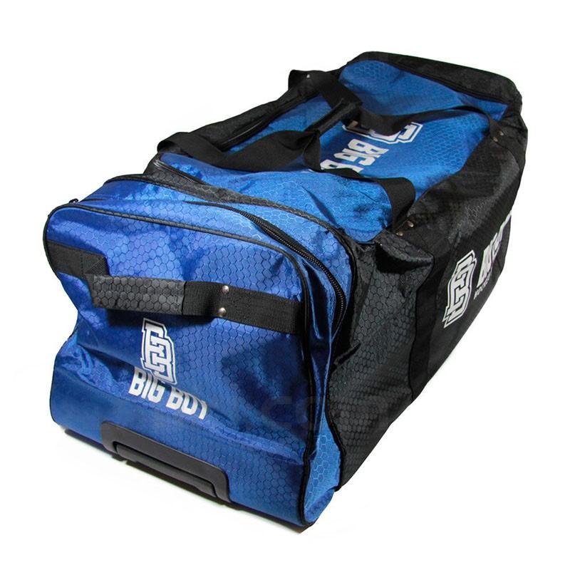 Сумка-баул спортивная  BIG BOY Comfort Line 28  арт.БУ-00000034, полиэстер, черно-сине-белый