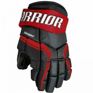 Перчатки хоккейные  WARRIOR QRE3 арт.Q3G-BRD-12, р.12, нейлон, ЭВА,черно-красный