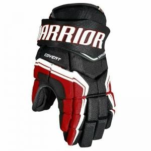 Перчатки хоккейные  WARRIOR QRE3 арт.Q3G-BRW-10, р.10, нейлон, ЭВА,черно-бело-красный