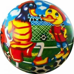 Мяч детский  Веселый футбол , арт.DS-PP 133, диам. 23 см, пластизоль, синий PALMON