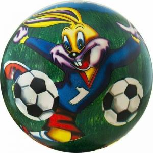 Мяч детский  Веселый футбол , арт.DS-PP 167, диам. 23 см, пластизоль, синий PALMON