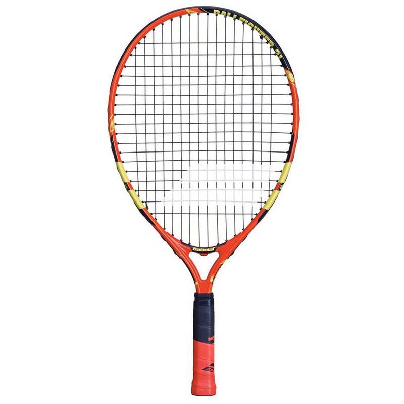 Ракетка теннисная детская BABOLAT Ballfighter 21 Gr000, арт.140239, для 5-7лет, алюм, со струн, оранж-чер-жел