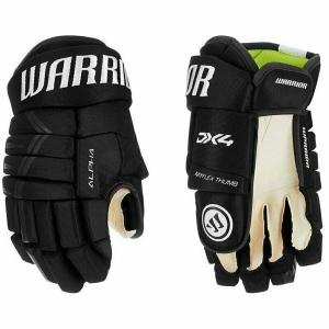 Перчатки хоккейные  WARRIOR ALPHA DX4 арт.DX4G9-BK11, р.11, нейлон, ЭВА с пласт. встав, черн-бел