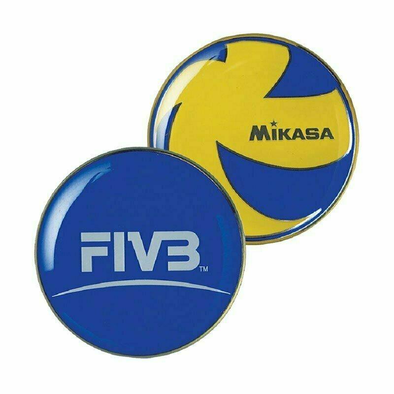 Монета для жеребьевки MIKASA TCVA , сине-желтый BA-17