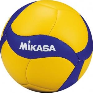 Мяч волейбольный сув. MIKASA V1.5W , р.1, диам. 15см синт. кожа (ПВХ), маш.сш, сине-желтый