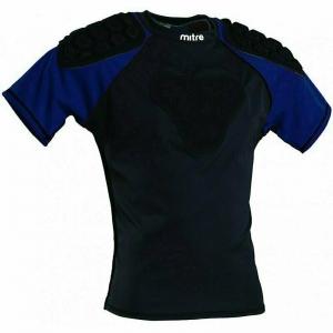 Защита плеч для регби MITRE Academy арт.T21814MBE4-XL, р.XL, полиэстер, спандекс, EVA,черно-синий