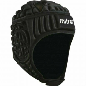 Шлем для регби MITRE Siedge , арт. T21710-BK-S, р.S, полиэстер, нейлон, пена EVA, черный