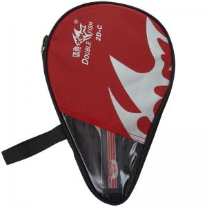 Ракетка для настольного тенниса DOUBLE FISH, арт.2D-C, для любителей, накладка 1,8 мм, конич. ручка