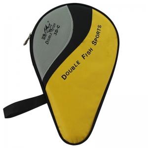 Ракетка для настольного тенниса DOUBLE FISH, арт.3D-C, для любителей, накладка 1,8 мм, конич. ручка