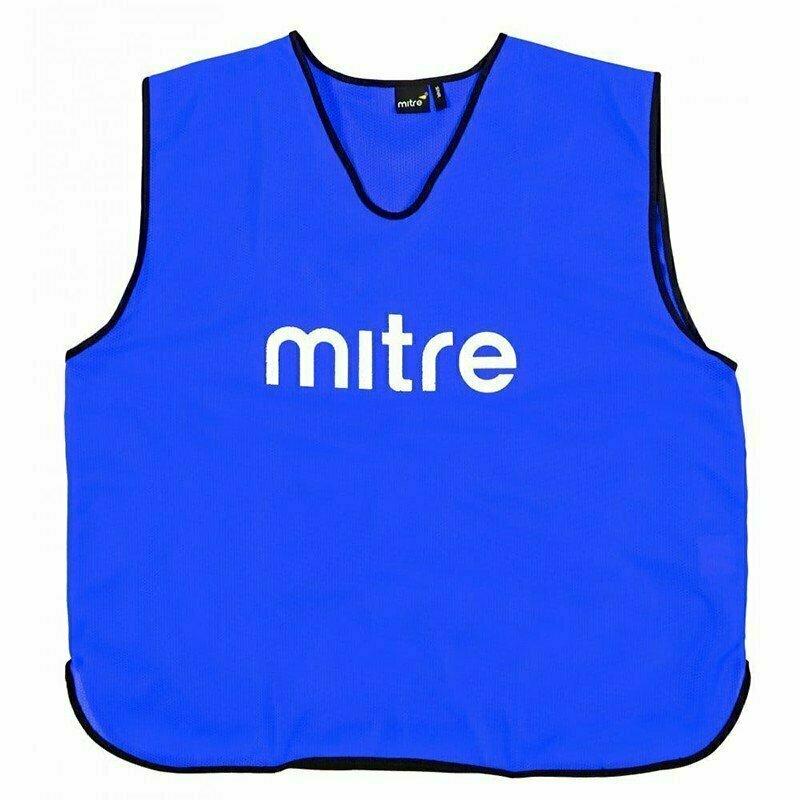 Манишка тренировочная  MITRE арт. Т21503RG2-SR, р.SR(объем груди 122см), полиэстер, синий