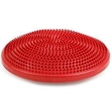 Полусфера массажная овальная надувная красная d-35см MSG300