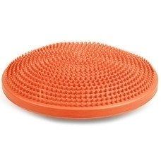 Полусфера массажная овальная надувная оранжевая d-35см MSG300