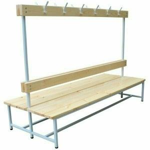 Скамейка для раздевалок двухсторонняя, длина 2 м