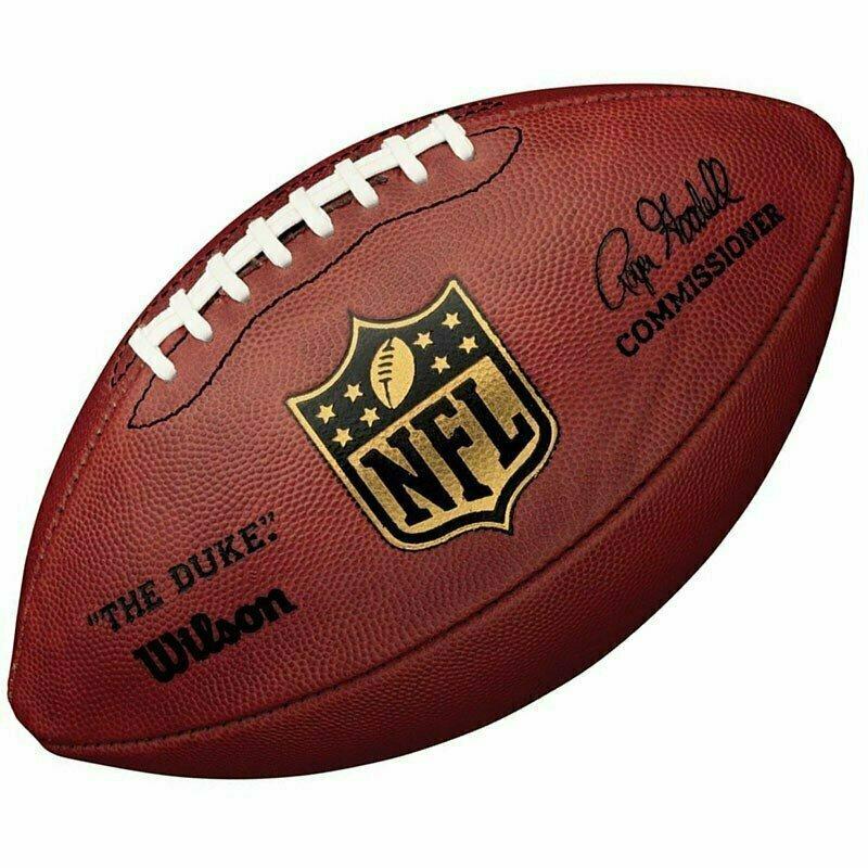 Мяч для американского футбола  WILSON Duke Replica арт.WTF1825XB, синт. кож PU, бут. кам, руч. сшив, корич.